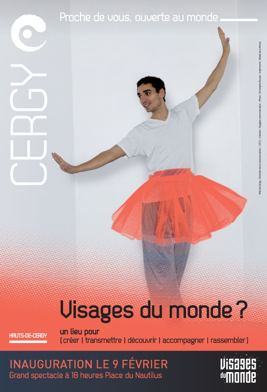 Christophe Boulze | Commissioned Visages du Monde - Cergy