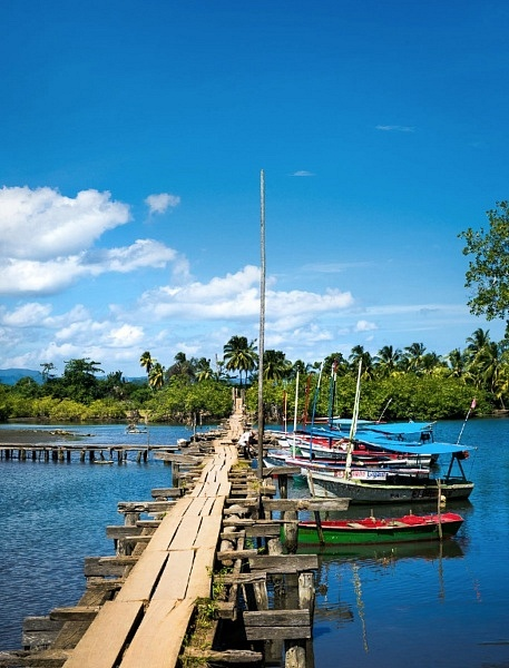 village de pecheurs de Boca de Miel, Baracoa, Cuba