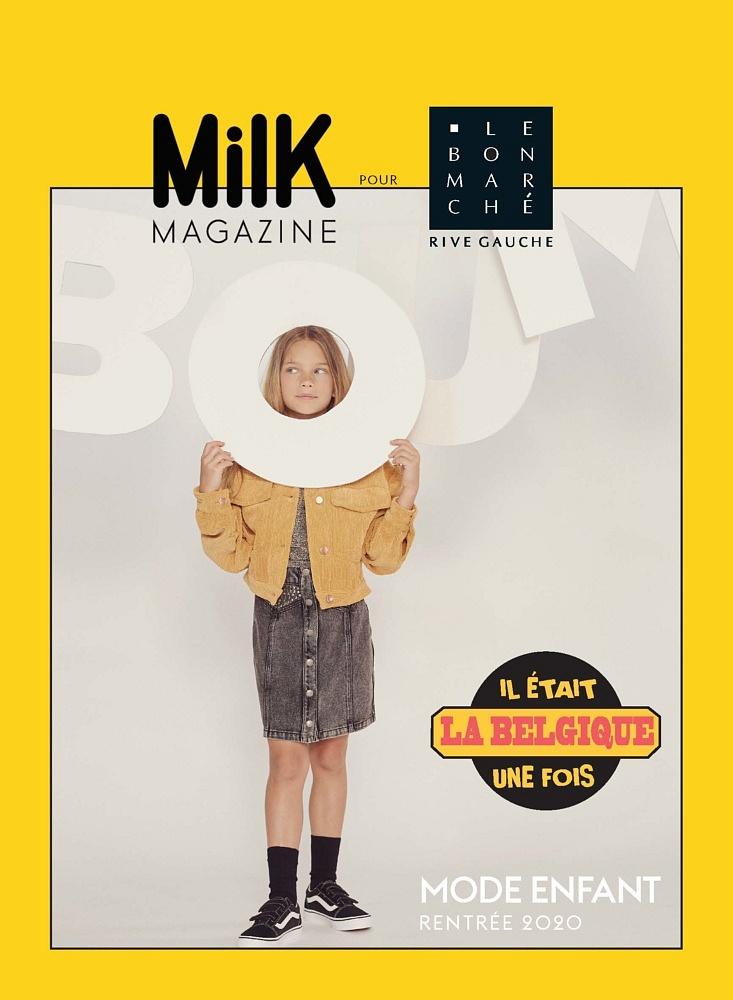 Anaïs Kugel <br>Le Bon Marché x Milk Magazine