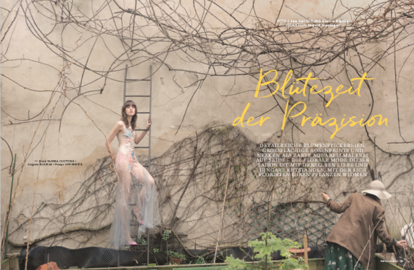 Claire Sibille Stylist Flair Magazine
