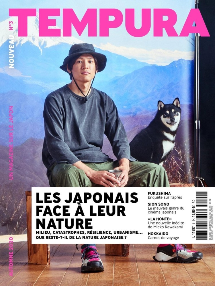 Cyrille Robin <br>Tempura magazine