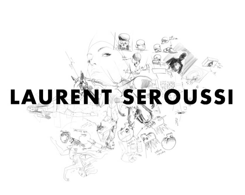 Laurent Seroussi <br>Check out his 'Creative process' category online!
