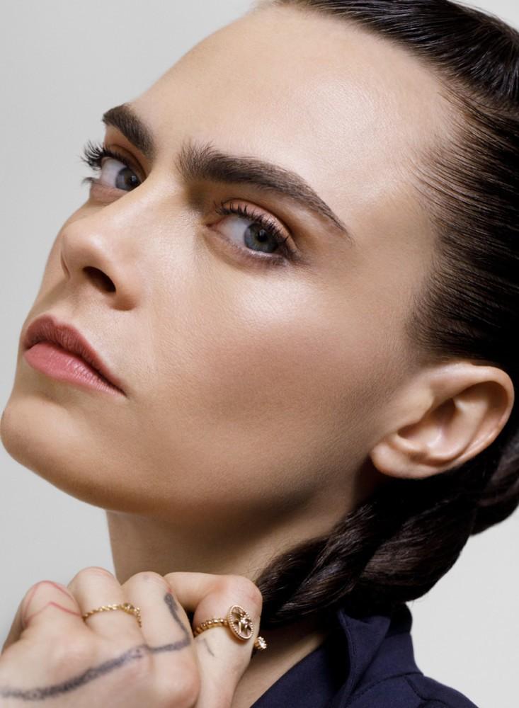Olivier Rose <br>Dior Makeup <br>Cara Delevingne